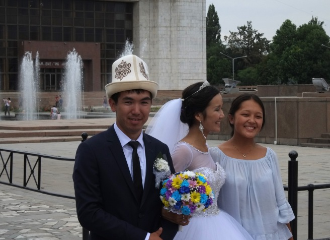 Kyrgyz wedding in Bishkek