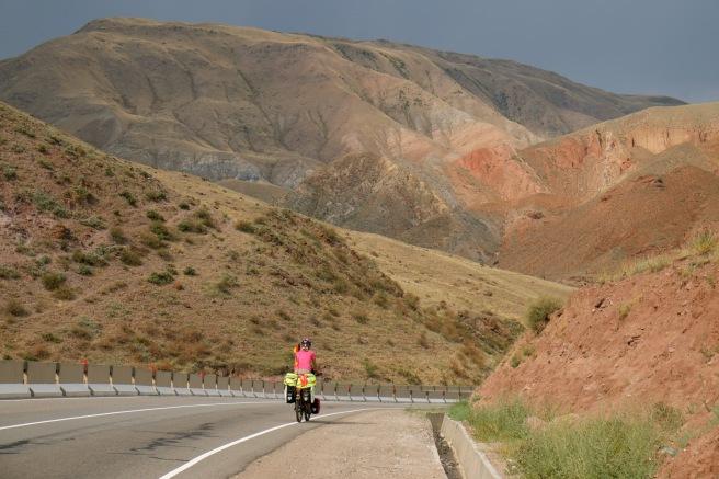 Scenery between Bishkek and Kochkor