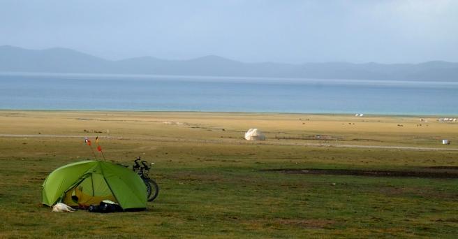 A perfect camp spot