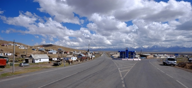 Downtown Sary Tash
