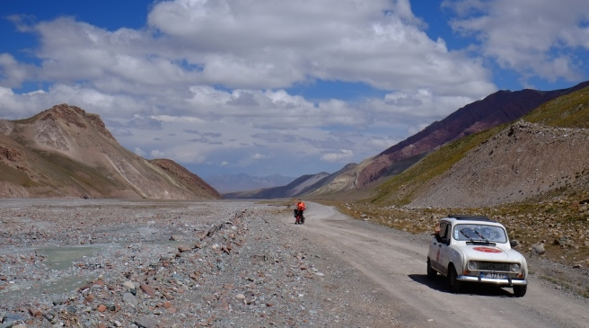 If an old R4 can do the Pamir Highway we should be able to do so, too!