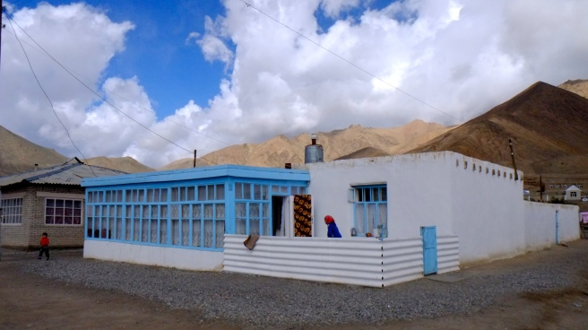 A typical townhouse in the Pamirs