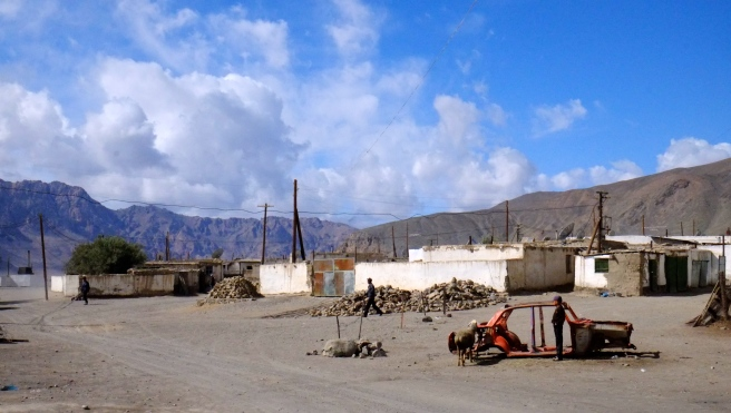 The desolate township of Murghab