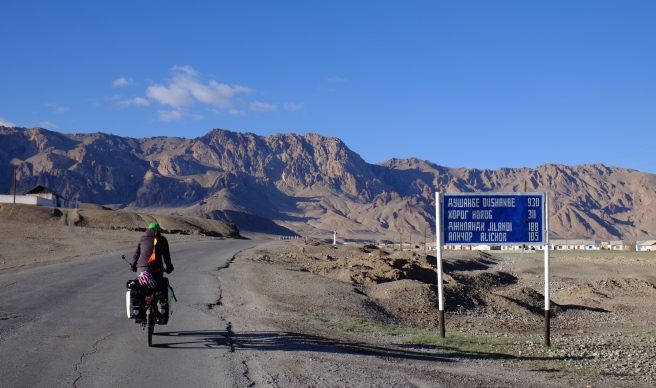 Leaving Murghab