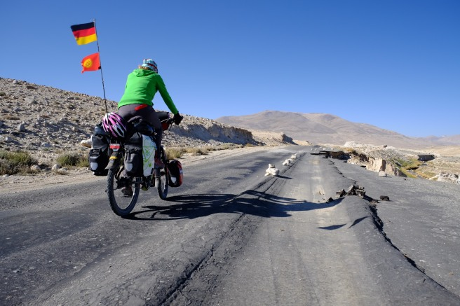 'Fantastic' roads - at least hazards are marked