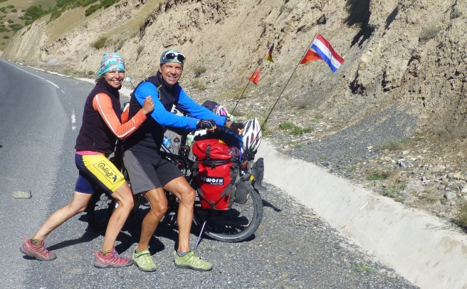 Our first 1000 kilometers cycled