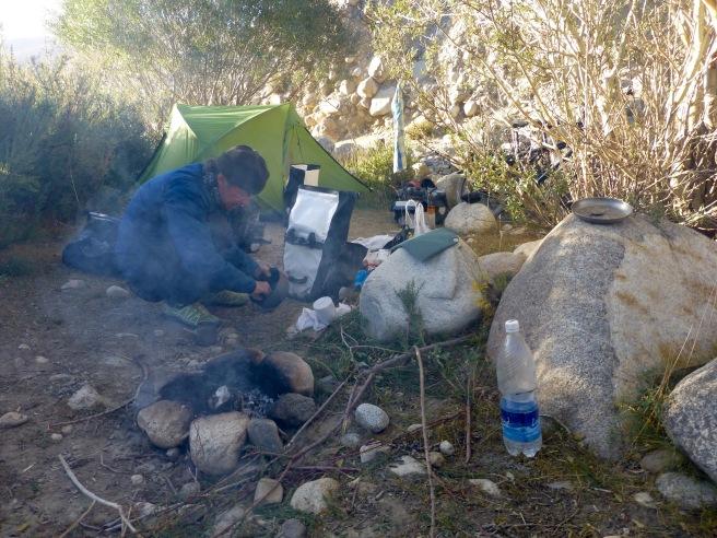 Our hidden camp