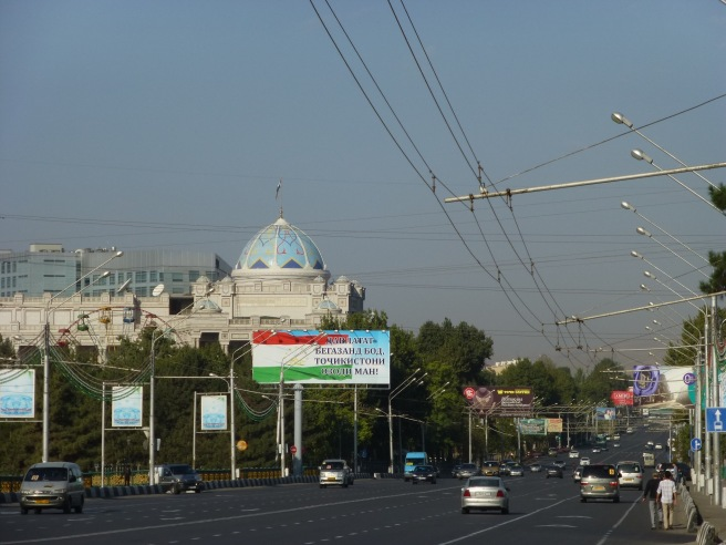 Leaving Dushanbe in the early morning