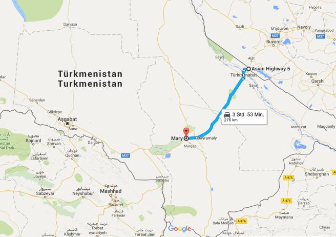 Geradelte Kilometer: 312km (insgesamt 2.744km)