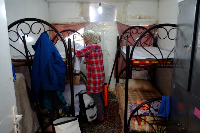 Our room at the Red Crescent