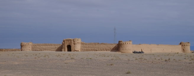 An old caravanserai along the silk road which can be found every 30 km to 40 km