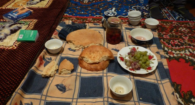Staple meal in Uzbekistan