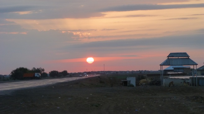 Reaching a settlement right before sunset