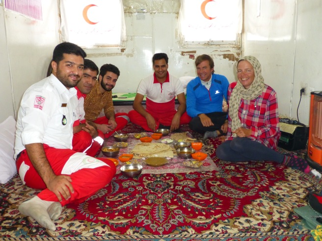 Lunch at the Red Crescent