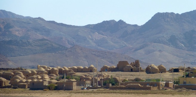 A typical desert village