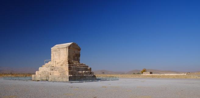 Cyrus' tomb