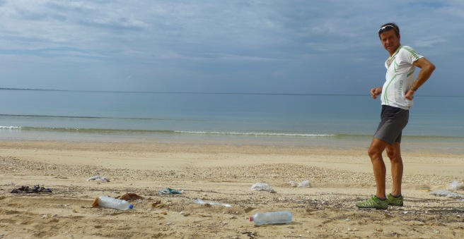 ...and sadly the beach is still full with garbage