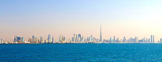 Impressive first vista of Dubai