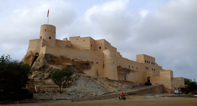 The Nakal castle in its full glory