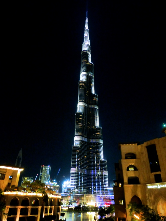 The elegant and beautiful Burj Khalifa