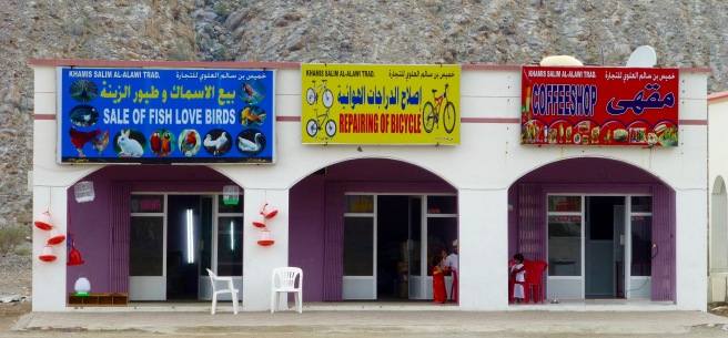 All you need: a shop where you can buy love or maybe birds or fish, a shop to repair bikes and a coffeeshop!