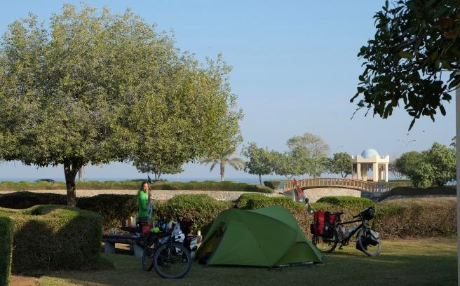 Back at the park in Sohar again