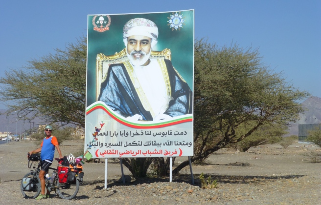Sultan Quaboos, the well respected head of Oman